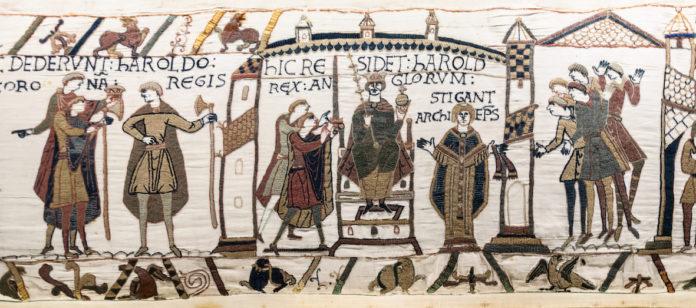 prêt tapisserie bayeux france royaume-uni