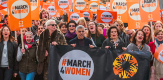 #March4Women marche