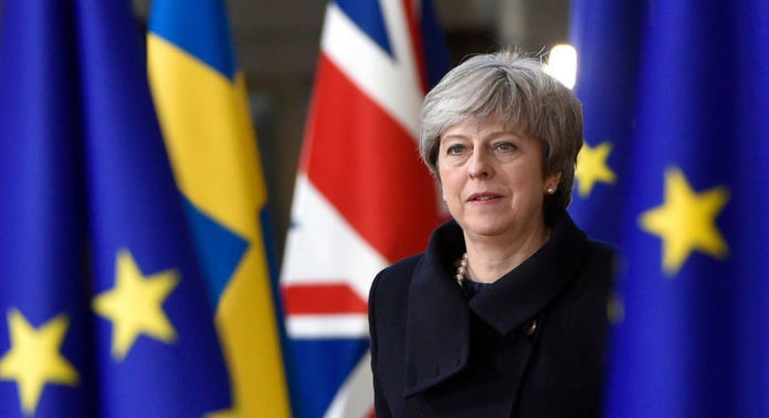 theresa may Brexit settled status