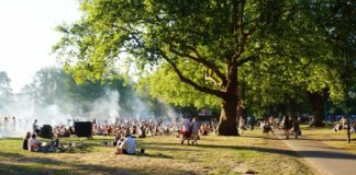 Barbecues à Hackney ©lespetitesjoiesdelavielondonienne
