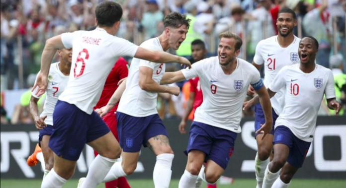 équipe de foot angleterre coupe du monde 2018