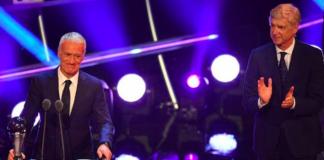Didier Deschamps meilleur entraineur FIFA Awards Londres