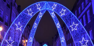 Illuminations de noël en 2017 à Londres