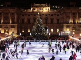 Patinoires de Londres, Somerset House