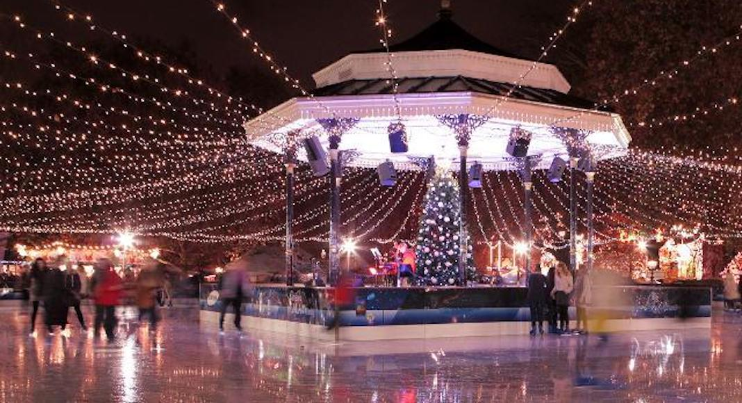 Winter Wonderland patinoire