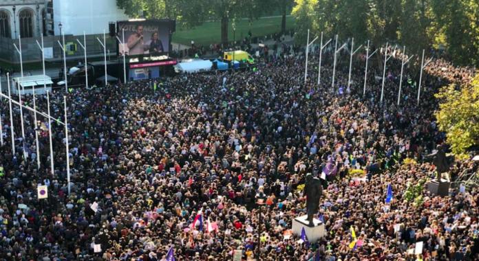 marche referendum brexit people vote march londres