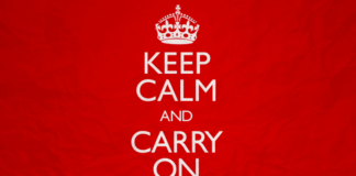 pourquoi dit-on keep calm and carry on royaume-uni