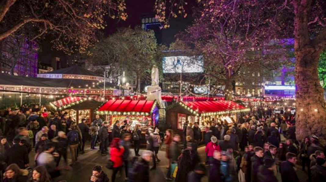 leicester square marche noel londres