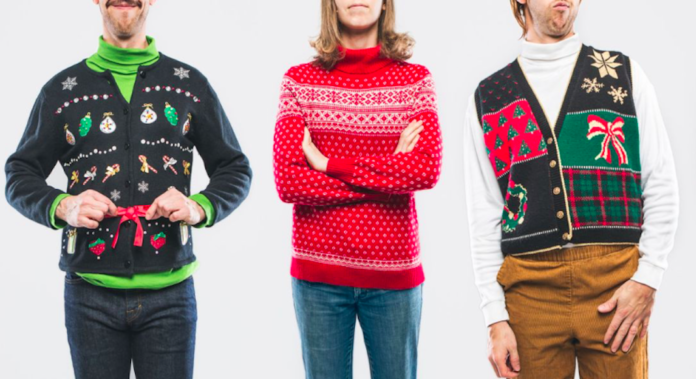 question bete christmas jumper day pull moche
