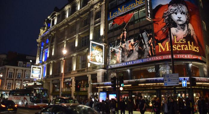 comédies musicales london 2019