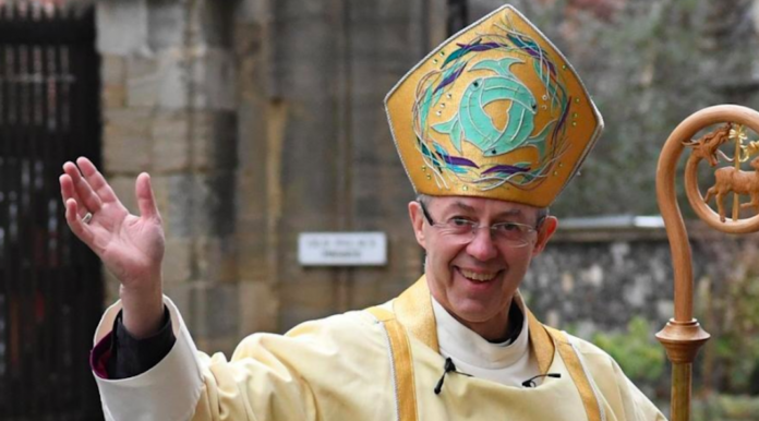 archeveque de canterbury messe notre dame de france londres