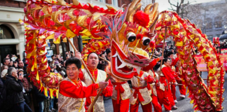 nouvel an chinois londres 2019