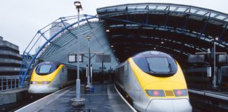 Eurostar suppression trains
