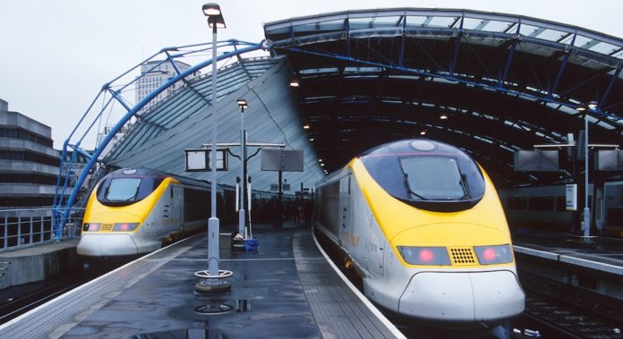 Eurostar suppression trains
