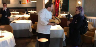 chef etoile clement leroy fois gras militants DxE UK London