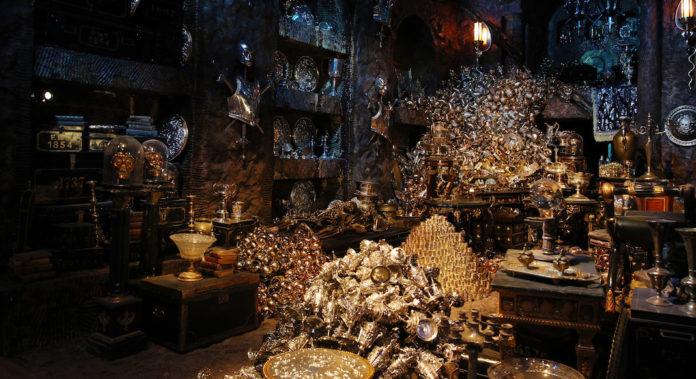 Gringotts banque Harry Potter Londres