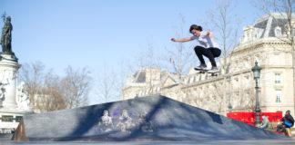 Charlotte Hym Skateboard skateurs