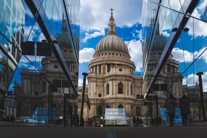 Edifices Londres St Paul Cathedral
