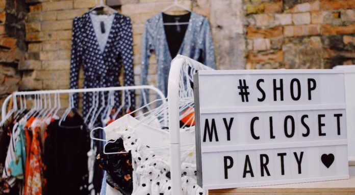 shop my closet party vide-dressing londres