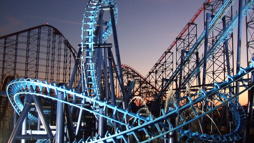 Blackpool Pleasure Beach parc d'attractions