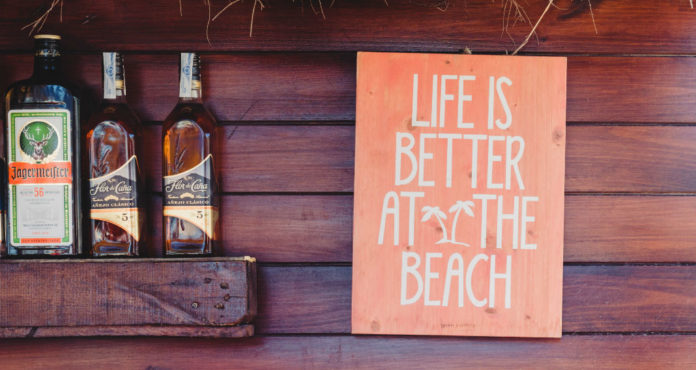 Beach clubs Londres