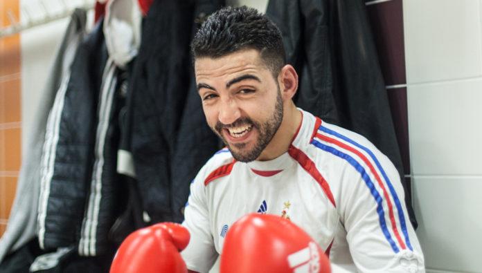 karim achour match boxe londres