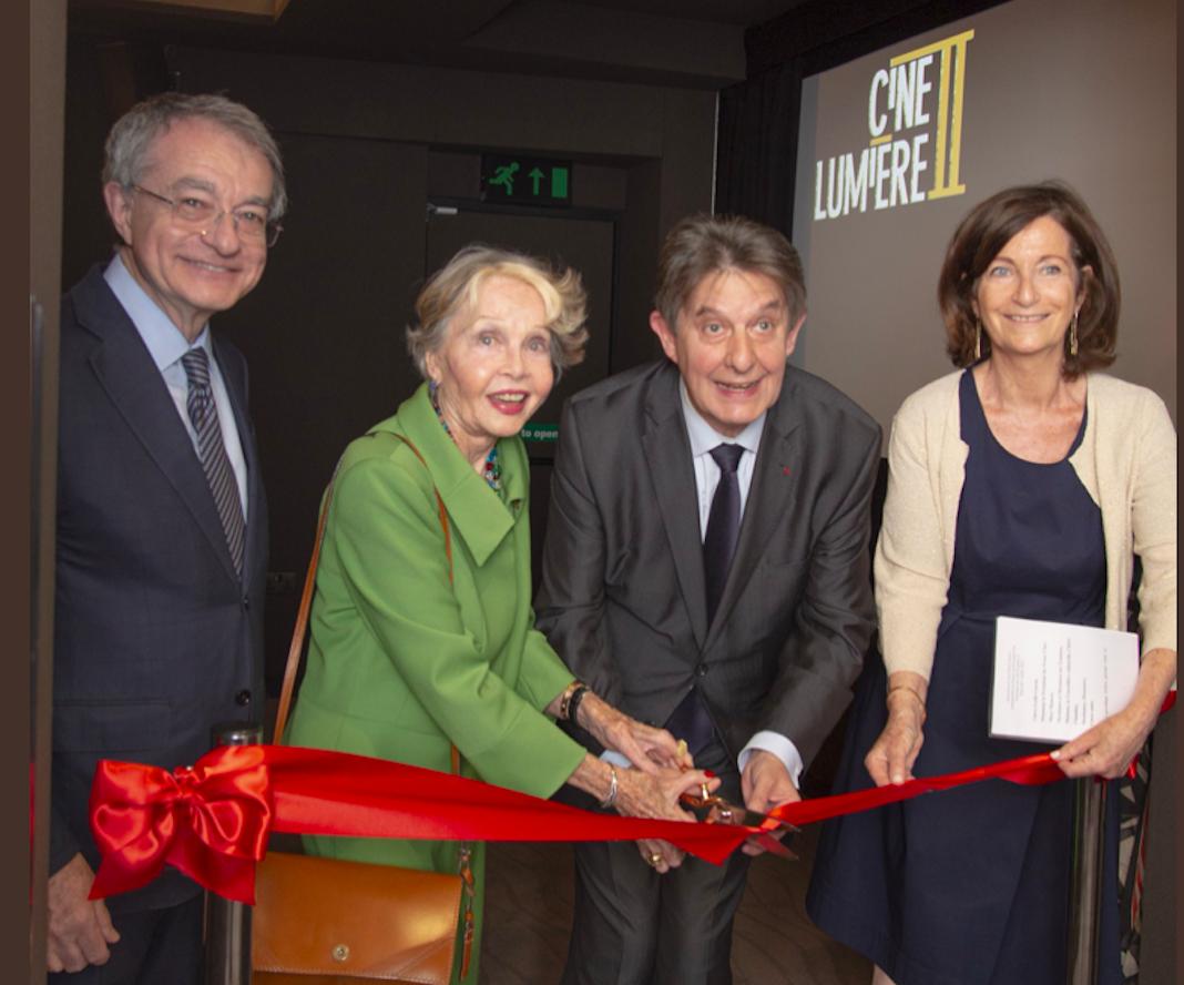 inauguration nouvelle salle cinema institut francais londres