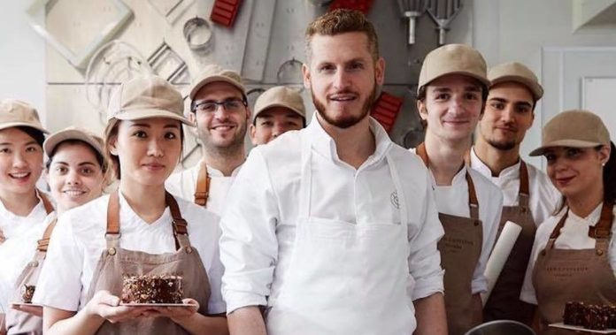 yann couvreur ouverture pop up patisserie londres