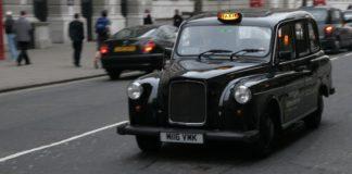Black cab londonien