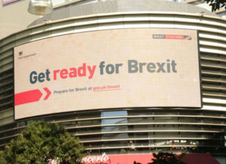 Get ready for Brexit campagne affiche