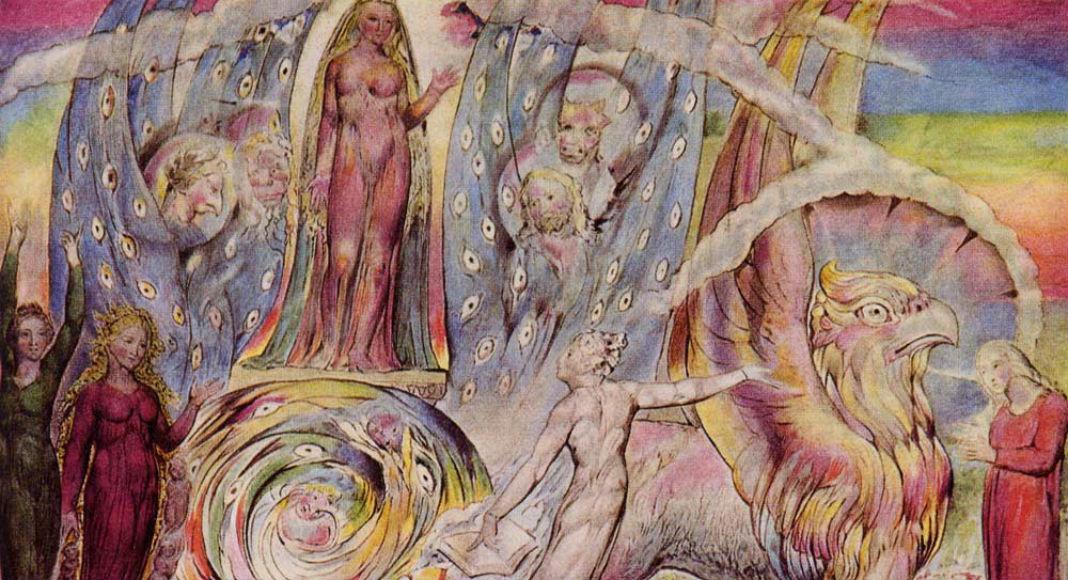 Beatrice Addressing Dante, William Blake, 1824