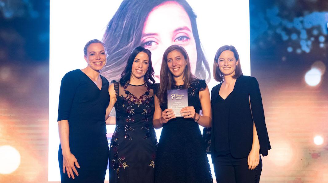 2019 Women In Finance Awards chloe chambraud