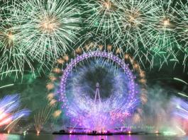 feu artifice fêtes fin d'année nouvel an londres