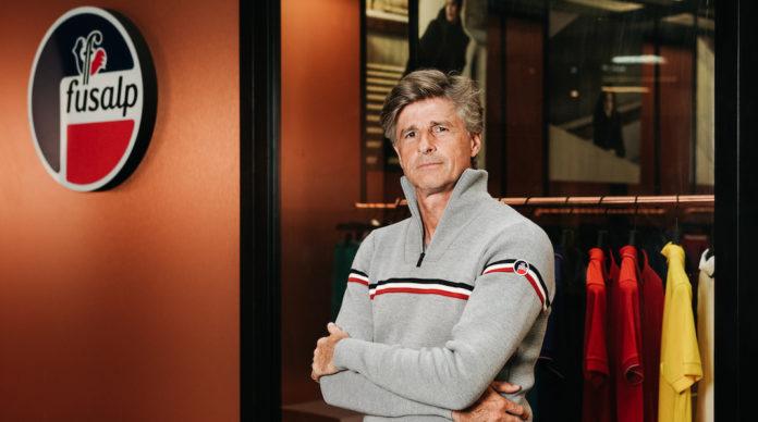 Alexandre Fauvet patron Fusalp nouvelle boutique londres