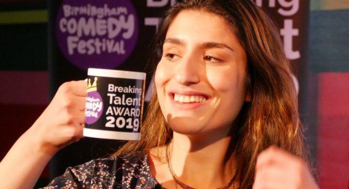 Celya AB a remporté le Birmingham Comedy Festival Breaking Talent Award