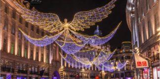 Illuminations de Noël à Londres
