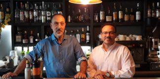 Khalid Harici (à gauche) et son associé Abdoul Harmal (à droite)