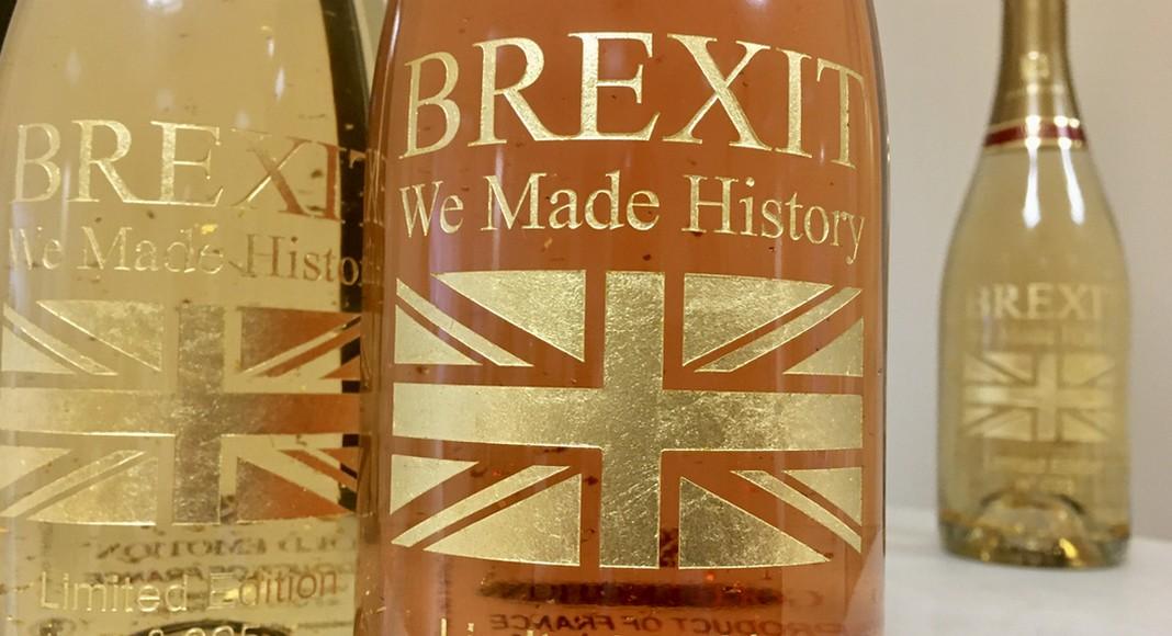 Une bouteille pour célébrer le Brexit