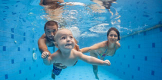 piscines bebe nageur londres