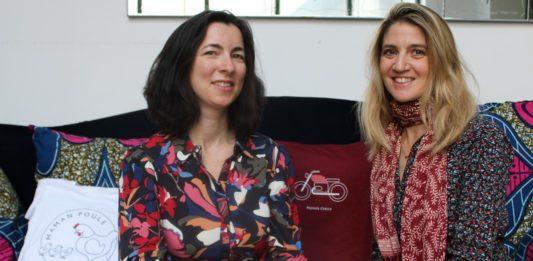 Aurore de Monclin (à gauche) et Anne-Laure de Vienne (à droite)