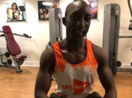 Boris Dosseh sclerose en plaques londres MS Society