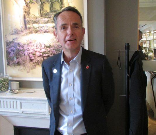 Mike Cooper PDG eurostar