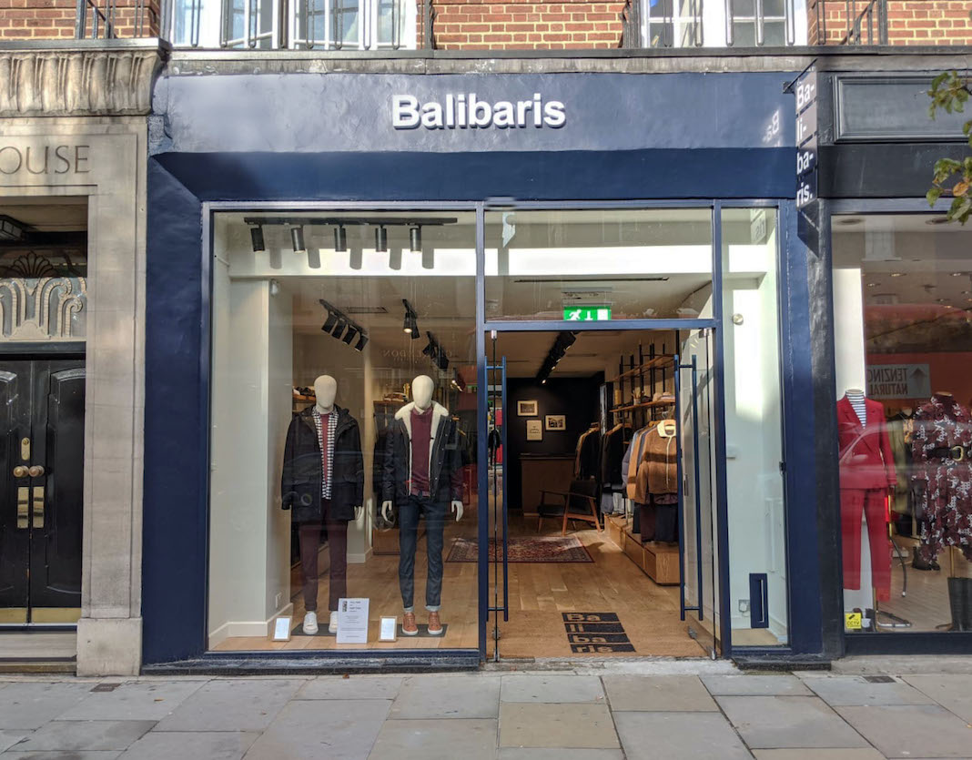 boutique balibaris ouverture kings road londres