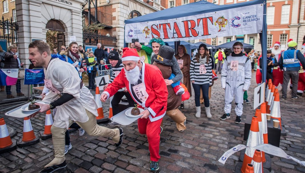 christmas pudding race que faire a londres en decembre 2019