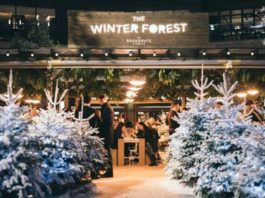the winter forest broadgate londres