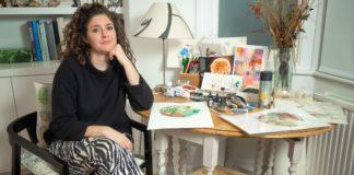 "Géraldine Molia organise sa première exposition intitulée ""Ricochets"""
