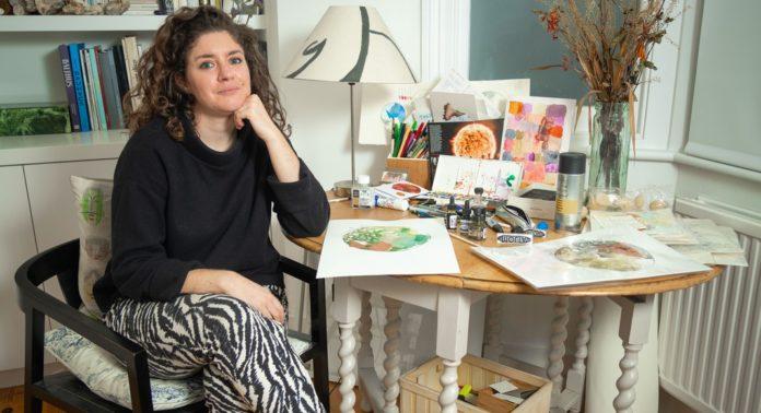 Géraldine Molia organise sa première exposition intitulée