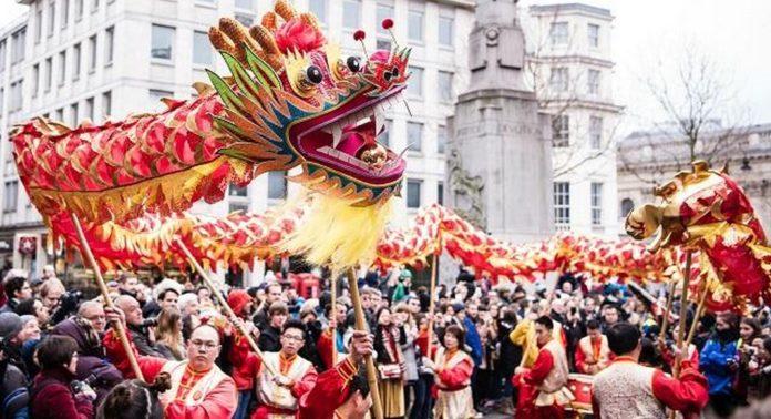 Fêter le nouvel an chinois à Londres
