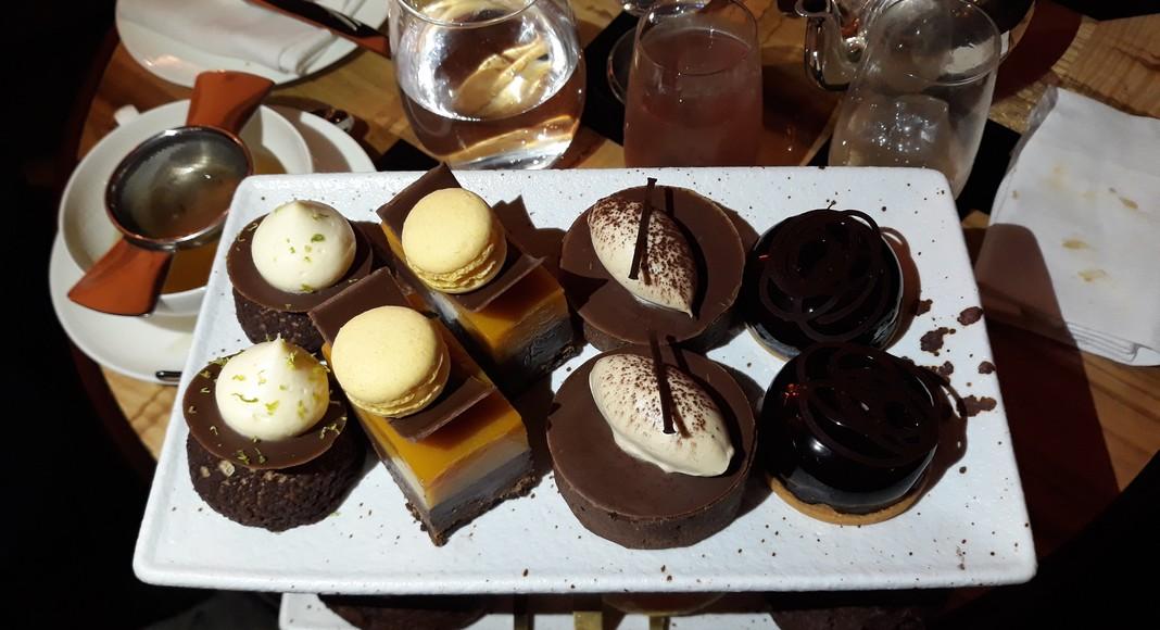 Afternoon tea imaginé par Thibault Marchand au Kinpton Fitzroy hotel de Londres