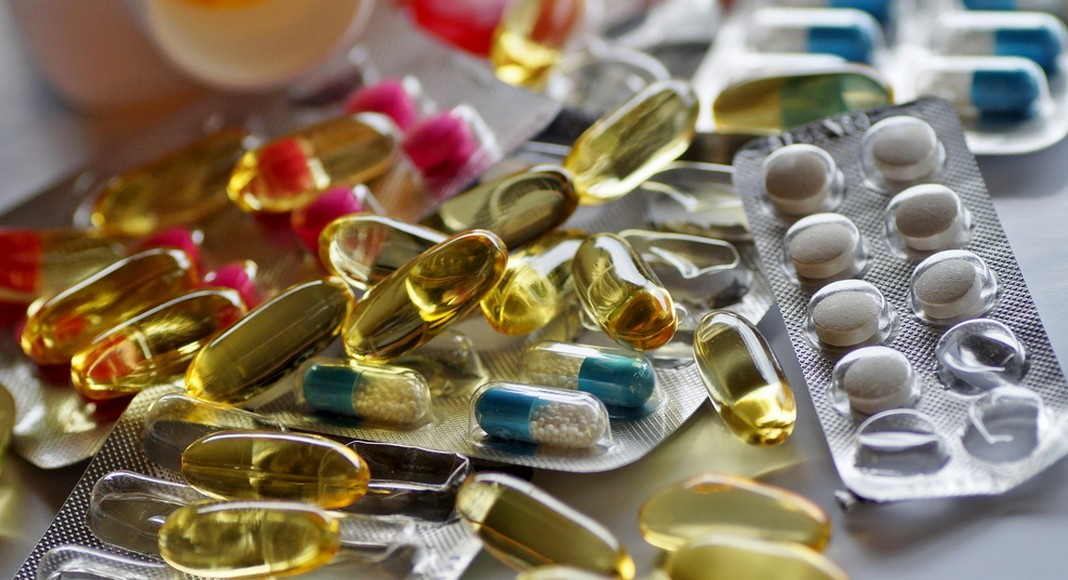 Plaquettes de médicaments